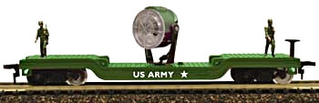 Army Search Light Car (HO Scale)