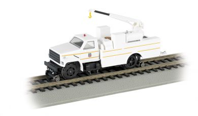 Hi Rail Equipment Truck with Crane Union Pacific DCC (HO)