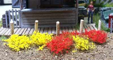 6mm Yellow and Red Tufts (100 pcs per pack)
