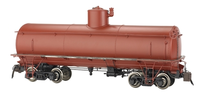 Painted, Unlettered - Oxide Red - Frameless Tank Car G