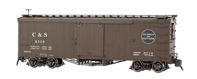 G Colorado & Southern - Murphy Roof Box Car (Large Scale)