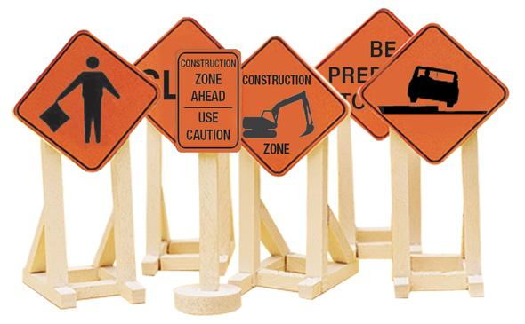 O Construction Zone Sign #2