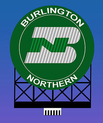 Ho/N Burlington Northern Bb