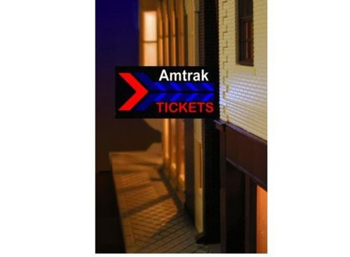 O/Ho Amtk Station Sign Left