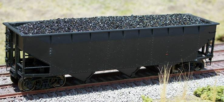 Ho Coal Loads for Accurail 70 Ton Hopper (2-Pack)