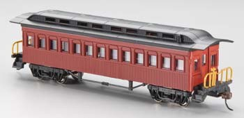 1860-1880 Coach Painted Unlettered (HO), Bachmann Model Trains Item Number BAC13402