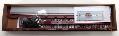 89 Bi-Level Auto Racks Northern Pacific (HO), Accurail Model Trains Item Number ACU9411