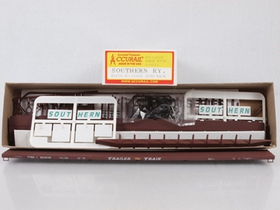 89 Bi-Level Auto Racks So (HO), Accurail Model Trains Item Number ACU9410