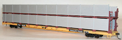 89 Bi-Level Auto Racks Und (HO), Accurail Model Trains Item Number ACU9400