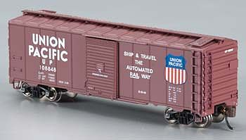AAR 40 Steel Box UP - Automated Railway (N), Bachmann Model Trains Item Number BAC17053