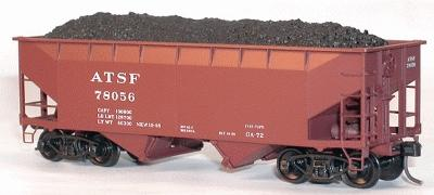 Coal Loads Acu Twin Hopper 12 Pieces (HO), Accurail Model Trains Item Number ACU304