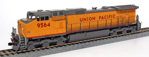 HO Unitrack Starter Set - GE C44-9W Union Pacific with Gunderson MAXI-IV Well Car, Kato Precision Railroad Models Item Number KAT302010