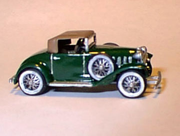 Ho 1932 Chevrolet Cabriolet Clear Kit, Williams Brothers Model Products Item Number WIL54500