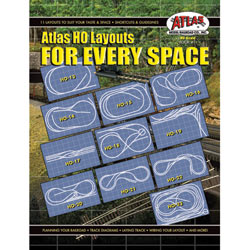 Layouts For Every Space (HO), Atlas Ho Model Trains Item Number ATL11