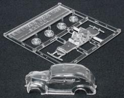 Ho 1939 Ford Deluxe Sedan Clear Kit, Williams Brothers Model Products Item Number WIL53100