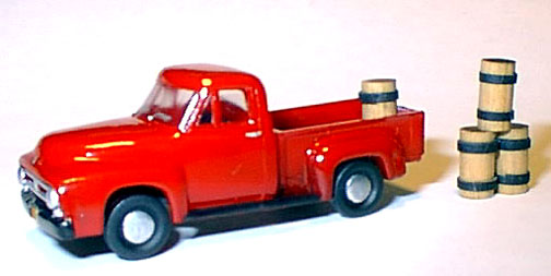 Ho 1953 Ford F-100 Pick-Up Clear Kit, Williams Brothers Model Products Item Number WIL53300