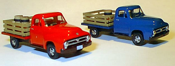 Ho 1953 Ford Stake Truck Clear Kit, Williams Brothers Model Products Item Number WIL53400
