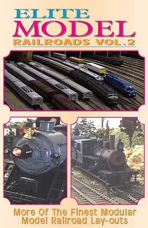 Elite Model Railroads Vol.2 (DVD), Non-Fiction Video Aviation DVDs Item Number DV461