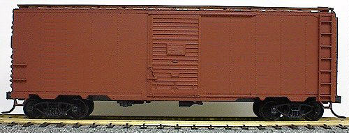 40 AAR Steel Boxcar Undecorated (HO), Accurail Model Trains Item Number ACU3500