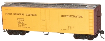 40 Steel Refrigerator Car Fruit Growers Express (HO), Accurail Model Trains Item Number ACU8304