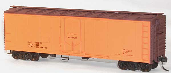 40 Steel Pg Reefer Org Data (HO), Accurail Model Trains Item Number ACU8594