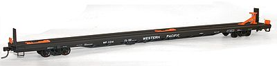 89 TOFC Flat, Western Pacific (HO), Accurail Model Trains Item Number ACU8917