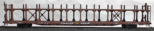 89' Bilevel Auto Rack Data (HO), Accurail Model Trains Item Number ACU9298