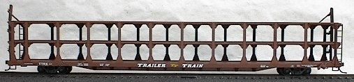 89 TriLevel Auto Rack Data (HO), Accurail Model Trains Item Number ACU9398