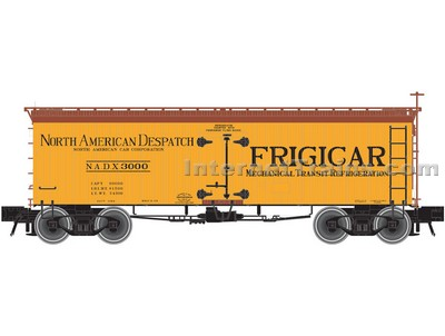 36wood Reefer Frigicar3004 HO Scale, Atlas Ho Model Trains Item Number ATL20002704