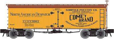 36wood Reefer Npc 3080 HO Scale, Atlas Ho Model Trains Item Number ATL20002709
