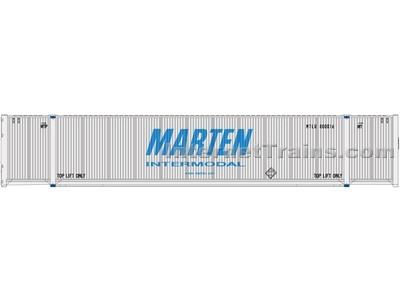 53cimc Container Marten #2 HO Scale, Atlas Ho Model Trains Item Number ATL20003005