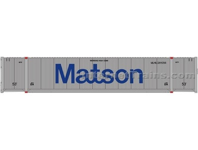 53cimc Container Matson #2 HO Scale, Atlas Ho Model Trains Item Number ATL20003007