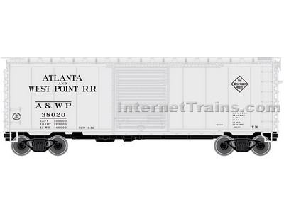 40 Ps-1 Boxcar A&Wp 38020 N Scale