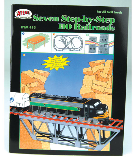 13 Seven Step-By-Step Railroads (HO), Atlas Ho Model Trains Item Number ATL13