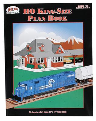 14 Kingsize Plan Book (HO), Atlas Ho Model Trains Item Number ATL14