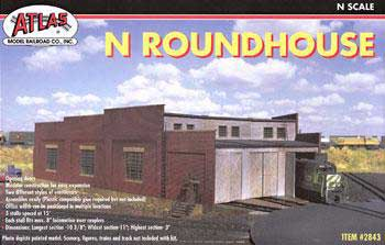 3 Stall Roundhouse (N Scale)