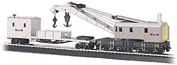 SS 250-Ton Crane/Boom/Tend MOW (HO), Bachmann Model Trains Item Number BAC16138