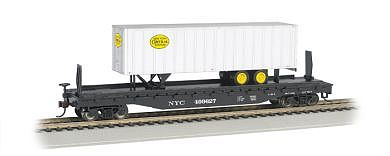 526 Flat w/35 Trailer New York Central (HO), Bachmann Model Trains Item Number BAC16703