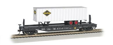 526 Flat w/35 Trailer Reading  (HO), Bachmann Model Trains Item Number BAC16704
