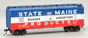 40 Box BAR State/Maine Products 5226 (HO), Bachmann Model Trains Item Number BAC17038