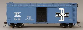 40 Boxcar B&M (HO), Bachmann Model Trains Item Number BAC17048