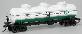 40 3-Dome Tank Quaker State (HO), Bachmann Model Trains Item Number BAC17137