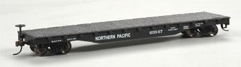Flatcar Northern Pacific (HO), Bachmann Model Trains Item Number BAC17333