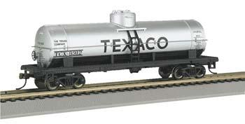 40 Single Dome Tank Texaco (HO), Bachmann Model Trains Item Number BAC17828