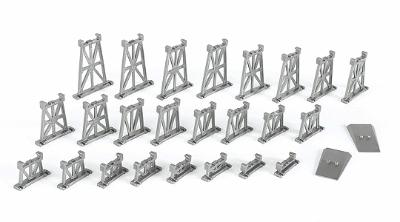 Graduated Trestle Set (N), Bachmann Model Trains Item Number BAC42523