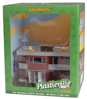 Apartment Building Built-Up (O), Bachmann Model Trains Item Number BAC45315