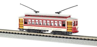Brill Trolley NYC Third Ave (N), Bachmann Model Trains Item Number BAC61092