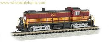 Alco RS3 w/Sound & DCC, Boston Maine #1536 (HO), Bachmann Model Trains Item Number BAC63903