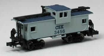 36 Wide Vision Caboose CSX (N), Bachmann Model Trains Item Number BAC70768