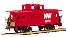36 Wide Vision Caboose NW (N), Bachmann Model Trains Item Number BAC70792